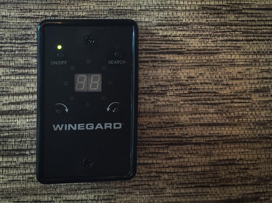 Winegard Control Panel